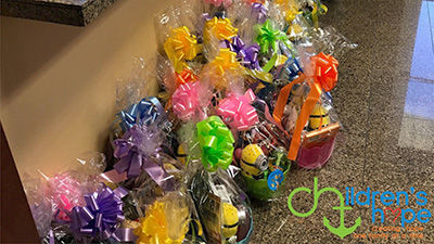 South Texas Annual Easter Basket Donation
