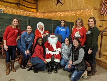 The Sulphur Springs and Longview Annual Christmas Party